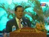 2014-07-03 : TVK PM Hun Sen Speech - National Disability Strategic Plan 2014-2018